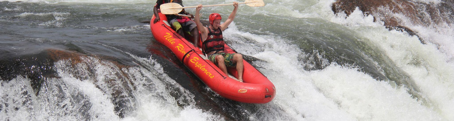 Extreme rafting on the Nile