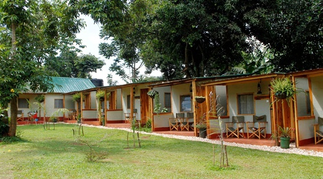 Twin en-suite rooms, Explorers River Camp, Bujagali, Jinja, Uganda