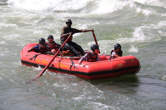 Grade 3 Rafting on the Nile
