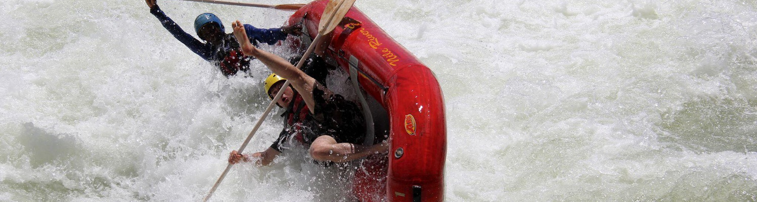 Extreme rafting on the Nile, Jinja, Uganda