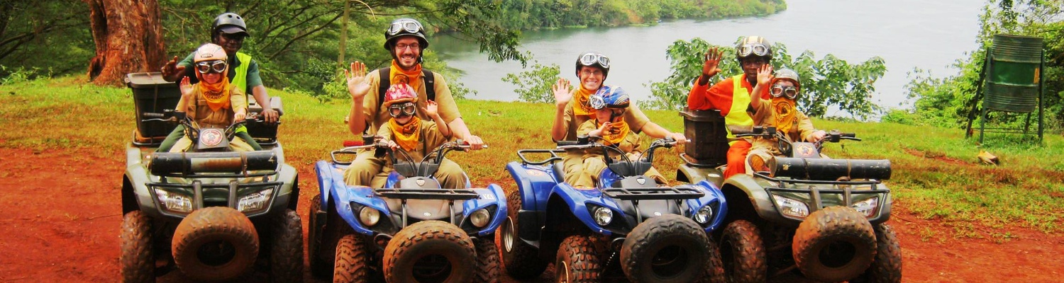 Quad biking along the Nile