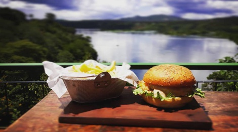 Buy a burger, get a free beer, Mondays at Explorers River Camp