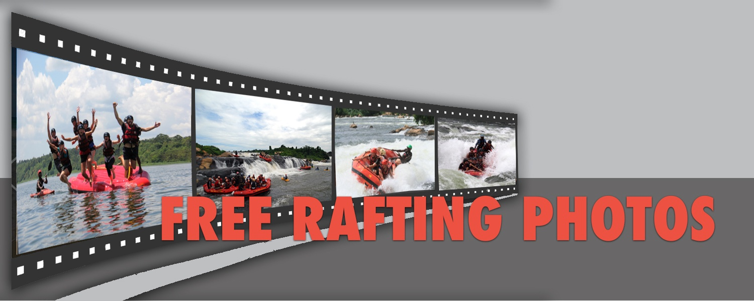 Free photos of your days rafting when you raft with Nile River Explorers