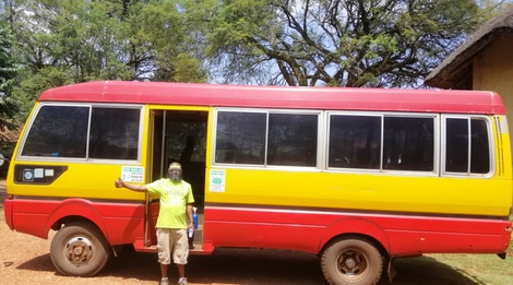 Free weekend shuttle to Jinja
